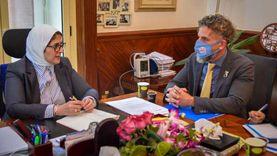 وزيرة الصحة تستقبل ممثل «اليونيسيف» بمصر لبحث سبل التعاون
