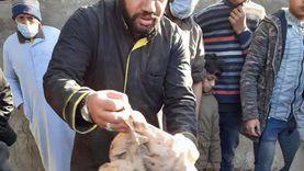 شباب يدشنون حملة لتطهير مقابر الفيوم من السحر: الأعمال في جماجم (صور)