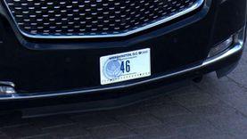 بايدن يركب سيارة تحمل رقم «46» متجها إلى مقبرة أرلينجتون