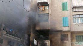 «الحماية المدنية» في القاهرة تعلن السيطرة على حريق عقار شبرا