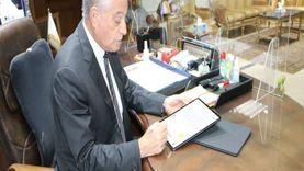 محافظ جنوب سيناء يعتمد توقيعه إليكترونيًا