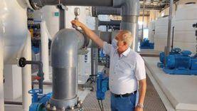 مياه مطروح: محطة تحلية الضبعة تنتج 40 ألف م3 حتى 100 ألف (صور)