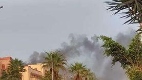 عاجل.. السيطرة على حريق داخل مديرية أمن بورسعيد