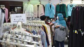 انتعاش كبير في مبيعات الملابس.. والأسعار ترتفع 20% بسبب «الخامات والغزول»