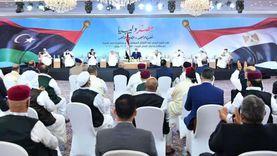 عاجل.. السيسي لليبيين: حرصنا على ألا نتدخل في شؤنكم