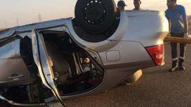 إصابة 7 أشخاص في حوادث سير متفرقة بجنوب سيناء