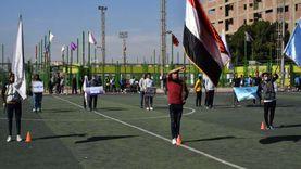 انطلاق فعاليات مهرجان التميز الرياضي الثالث بجامعة سوهاج