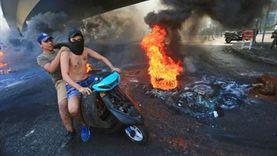 إطلاق غاز مسيل للدموع لتفريق المتظاهرين في بيروت