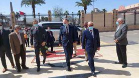 محافظ بورسعيد يستقبل سفير الاتحاد الأوروربى