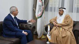 «العسومي» يستقبل رئيس برلمان البحر المتوسط