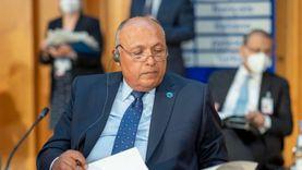 سامح شكري: ندعم الوصول لانتخابات ليبية في ديسمبر القادم
