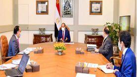 الرئاسة: السيسي يجتمع مع مدبولي ومعيط لاستعراض الوضع الاقتصادي