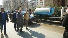 محافظ كفر الشيخ يتابع صيانة شبكات الصرف ورفع مياه الأمطار