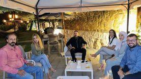 رامي عياش يستضيف الفريق الطبي المعالج لزوجته داليدا