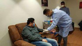 «صحة جنوب سيناء» تواصل تطعيم الأطقم الطبية بلقاح كورونا