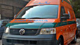 إصابة مجند سقط أثناء النزول من قطار في أسيوط