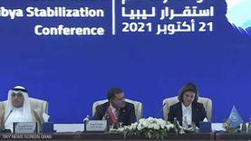 شكري يلتقي بالدبيبة والمنقوش على هامش مؤتمر دعم استقرار ليبيا