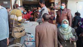 تغريم 33 مواطنا لعدم ارتداء الكمامة في حملات بالمنيا