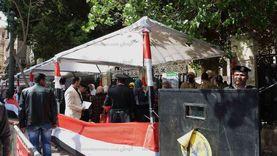 """أغانٍ وطنية وإقبال كثيف على التصويت بانتخابات """"الشيوخ"""" في قصر الدوبارة"""
