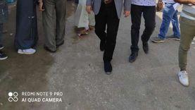السكرتير العام المساعد يتفقد لجان انتخابات النواب بالفيوم