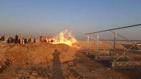 رئيس جامعة سوهاج بعد حريق غامض في بئر مياه: خزان غاز على عمق 800 متر