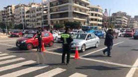 ضبط 4336 مخالفة مرورية خلال حملات على الطرق والمحاور
