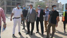 محافظ القليوبية يشهد افتتاح شارع أحمد عبد الموجود ببنها