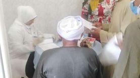 """""""الداودي"""": الكشف على 995 حالة خلال القافلة الطبية بنجع الحىّ بمدينة قنا"""