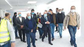 محافظ بورسعيد يتابع مستجدات العمل بمشروع «مول الفرما»