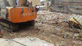 غلق جزئي في الاتجاهين بشارع ثروت مع السودان لمد كابلات كهرباء