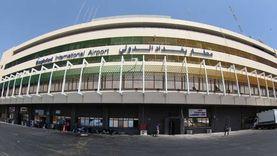"""سكاى نيوز"":استهداف مطار بغداد الدولي بصاروخي كاتيوشا"