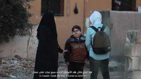 """""""غيث"""" ينعى الطفل السوري """"سعيد"""" بعد رفقته في رحلة علاجية استمرت عاما"""