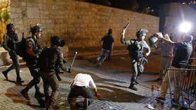 إصابة 205 فلسطينيين في اقتحامات إسرائيلية للمسجد الأقصى وحي الشيخ جراح