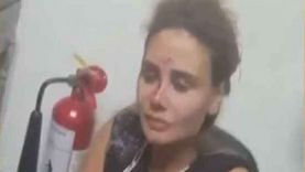 بالفيديو.. إصابة خطيرة لزوجة رامي عياش في انفجار بيروت