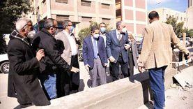 محافظ الغربية يتفقد أعمال التطوير بقرى مركز ومدينة المحلة