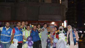 توزيع 250 كيلوكحك و50 وجبة لغير القادرين ليلة العيد في الإسكندرية «صور»