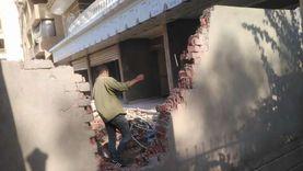إيقاف 4 حالات تحويل من سكني لتجاري وآخر مخالف بحدائق الأهرام