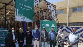 انطلاق مشروع «كرتونة الخير» بمركز شباب القناطر بالقليوبية