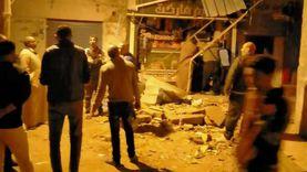 انهيار شرفة منزل بطنطا دون وقوع إصابات