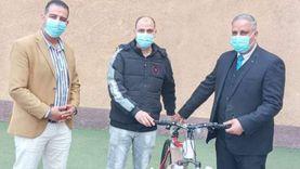 تسليم دراجات المرحلة الثالثة لمبادرة «دراجتك صحتك» بالقليوبية