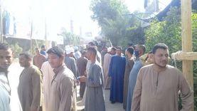 طوابير أمام لجان انتخابات النواب في البدرشين