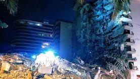 قتيل و«100 مفقود» إثر انهيار مبنى سكني بفلوريدا.. وبايدن يعلن الطوارئ