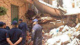 مصرع شخص وإصابة آخر في انهيار بلكونة منزل في المحلة