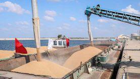 103 آلاف طن رصيد القطاع العام في صومعة الحبوب والغلال بميناء دمياط