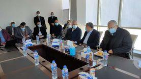 وزيرا الري والزراعة يتفقدان مصنع «سكر القناة» في المنيا