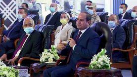 السيسي: الدولة لم ولن تسقط بأمر الله.. ربنا قال مصر لأ