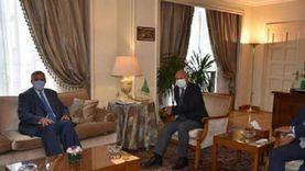 أبوالغيط يستقبل منسق الأمم المتحدة للبنان