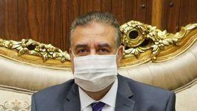 محافظ المنوفية في اليوم الرابع لإصابته بكورونا: بخير وحالتي مستقرة