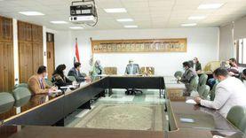 نائب رئيس جامعة أسيوط يترأس الاجتماع الأول لمكتب رعاية المبعوثين