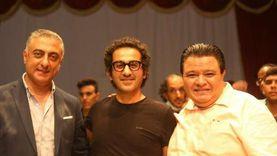 خالد جلال يكرم أحمد حلمي في سينما مصر